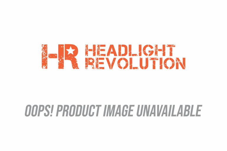 JW Speaker: 8790A2-12V Adaptive Headlight (Black) Bezel