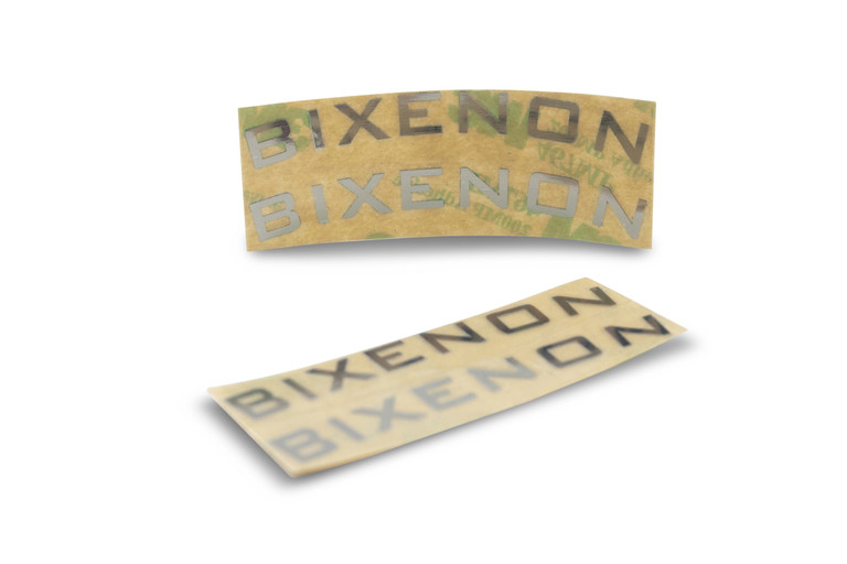Bi-Xenon Emblems | Chrome Monograms