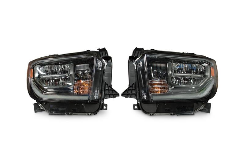 Toyota Tundra 18 Genuine Oem Led Headlights For Less Hr Lf393