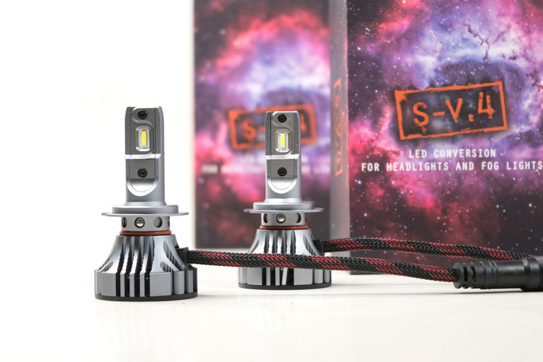 H7: S-V.4 | LED Headlight Bulbs
